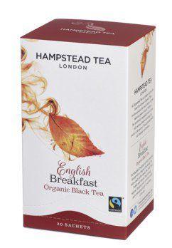 Hampstead English Breakfast Tea,bio, 20 Teebeutel