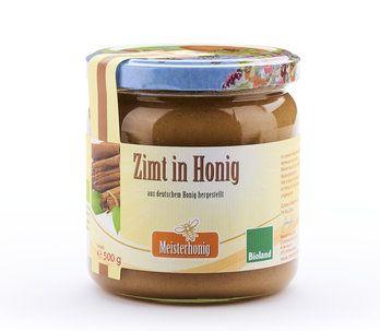 Meisterhonig Bio Zimt in Honig aus Deutschland, 500g