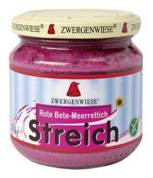 Zwergenwiese Bio Rote-Beete-Meerrettich Streich, 180g