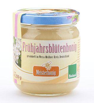 Meisterhonig Bio Frühjahrsblütenhonig aus Deutschland, 250g