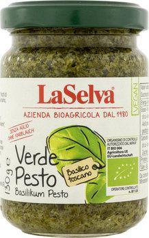 LaSelva Pesto verde, Bio Basilikum Pesto, 130g