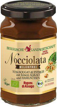 Nocciolata Nuss-Nougat-Aufstrich milchfrei