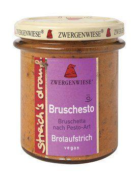 Zwergenwiese Bio Brotaufstrich Bruschesto, 160g