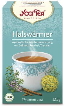 Yogi Tea® Halswärmer Bio Kräutertee, 17 Teebeutel