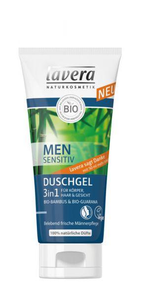 Lavera Men sensitiv Duschgel 3in1, 200ml
