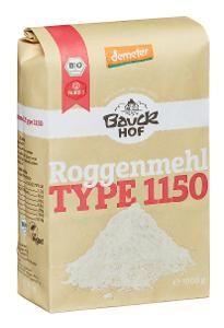 Bauckhof Bio Roggenmehl Type 1150 Demeter, 1kg