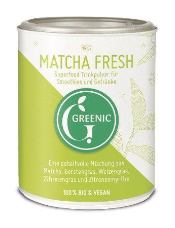 Greenic Bio Matcha Fresh Trinkpulver, 80g
