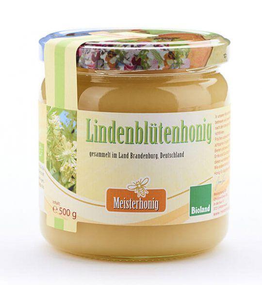 Meisterhonig Bio Lindenblütenhonig aus Deutschland, 500g