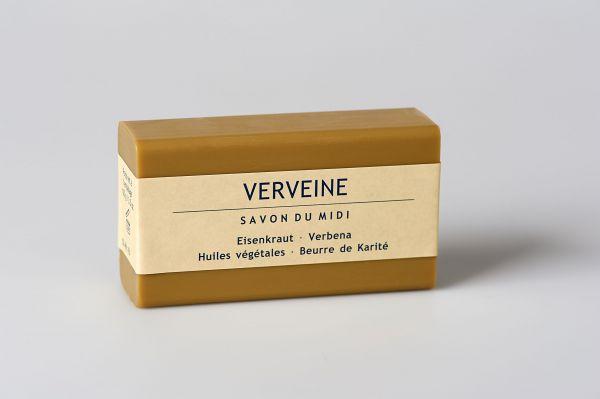 Savon du Midi Seife mit Karite-Butter, Eisenkraut, 100g