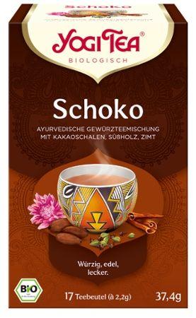 Yogi Tea® Schoko Bio Gewürztee, 17 Teebeutel
