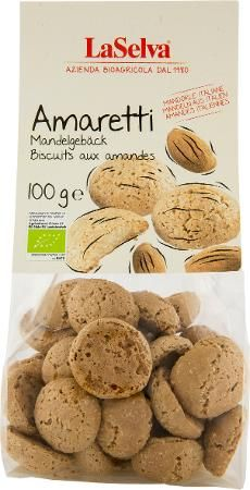 LaSelva Amaretti Bio Mandelgebäck, 100g
