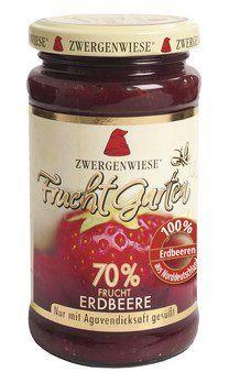 Zwergenwiese Bio FruchtGarten 70% Erdbeere, 225g