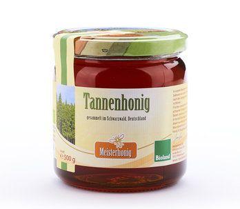 Meisterhonig Bio Tannenhonig aus Deutschland, 500g