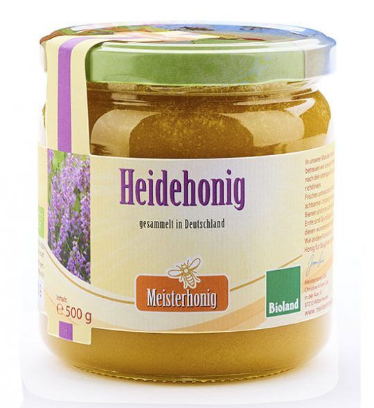 Meisterhonig Bio Heidehonig aus Deutschland, 500g