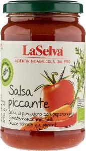 LaSelva Bio Tomatensauce leicht pikant, 340g
